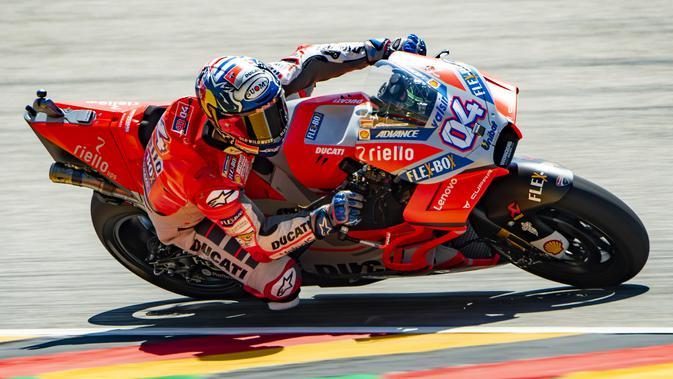 FP1 MotoGP Austria: Ducati Dominan, Rossi Tercecer
