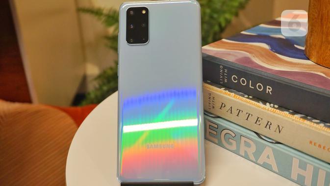 Samsung Galaxy S20 Plus. Liputan6.com/ Agustin Setyo Wardani
