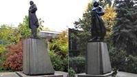 Sebagai bagian dari upaya mengikis berbagai peninggalan berbau komunisme di Ukraina, patung Vladimir Lenin pun raib dari tempatnya.
