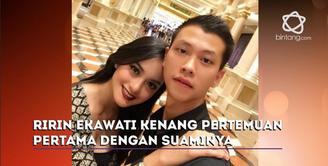 Kisah cinta Ririn Ekawati dan Fery Wijaya berawal dari pertemanan.