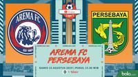 Shopee Liga 1 - Arema FC Vs Persebaya Surabaya (Bola.com/Adreanus Titus)