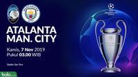 Liga Champions - Atalanta Vs Manchester City (Bola.com/Adreanus Titus)