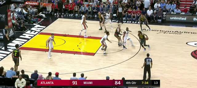Berita video game recap NBA 2017-2018 antara Miami Heat melawan Atalanta Hawks dengan skor 101-98.