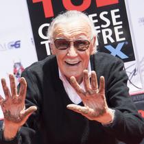 Stan Lee, pencipta karakter superhero Marvel Comics (VALERIE MACON / AFP/Komarudin)