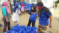Nasdem salurkan sembako untuk 6 ribu KK di Kepulauan Seribu. (Istimewa)