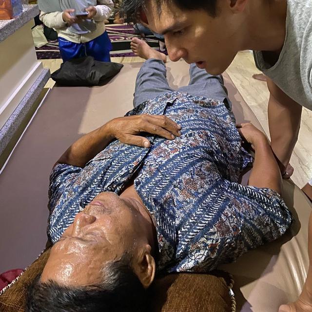 Ayah Jessica Iskandar jadi korban tabrak lari (https://www.instagram.com/p/B8_tme1Hwl_/)
