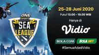 ONE ESports DotA 2 SEA League pekan kedua. (SUmber: Vidio)