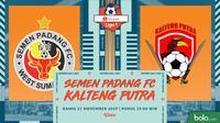 Shopee Liga 1 - Semen Padang FC Vs Kalteng Putra (Bola.com/Adreanus Titus)