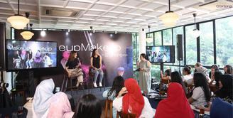 Bintang.com kembali menggelar MakeupMakeup, kali ini dengan bintang tamu Aurelie Moeremans dan beauty vlogger Tasya Farasya.