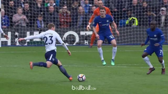 Chrisitan Eriksen mencetak satu gol saat Tottenham mengalahkan Tottenham Hotspur 3-1. This video is presented by Ballball.