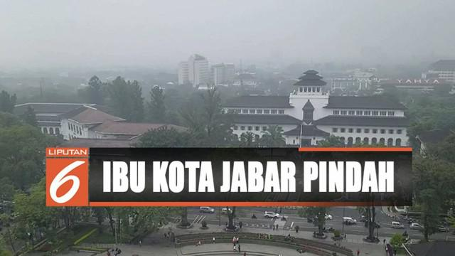 Gubernur Ridwan Kamil berencana memindahkan ibu kota Provinsi Jawa Barat. Ada tiga lokasi yang diusulkan.