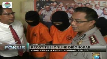 Parah, lelaki asal Kediri, Jawa Timur ini tega menjual pacarnya sendiri melalui bisnis prostitusi online yang didalanginya.