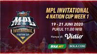 MPL Invitational 4 Nation Cup menjadi ajang bergengsi di kawasan Asia Tenggara.