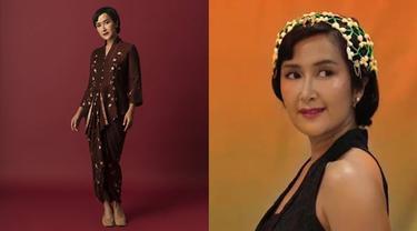 6 Potret Widi Mulia Pakai Kebaya, Ditampilkan dalam Video Lagu Terbaru