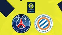Ligue 1 - PSG Vs Montpellier (Bola.com/Adreanus Titus)