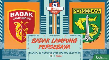 Badak Lampung FC vs Persebaya Surabaya