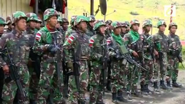 Satgas Gabungan TNI dan Polri menembak mati 3 anggota Kelompok Kriminal Bersenjata (KKB) di Puncak Kabo.