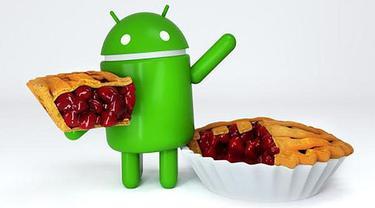Ilustrasi Android 9 Pie
