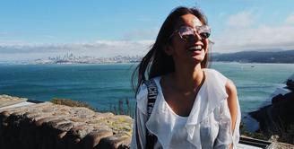 Selama 10 hari Kirana Larasati mengisi liburan di Amerika Serikat belum lama ini. Beberapa tempat disambangi Kirana yang tak mengajak buah hatinya. Ia bersama dengan teman-temannya. (Instagram/kiranalarasati)