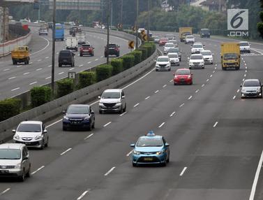 Penerapan Ganjil Genap Tol Turunkan Kepadatan Lalu Lintas 35%