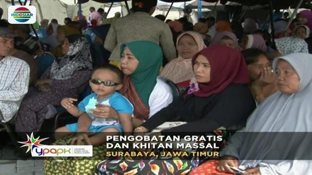 Bekerja sama dengan Lantamal 5 Surabaya, YPAPK gelar bakti sosial berupa pengobatan dan pemeriksaan kesehatan gratis hingga khitanan massal.