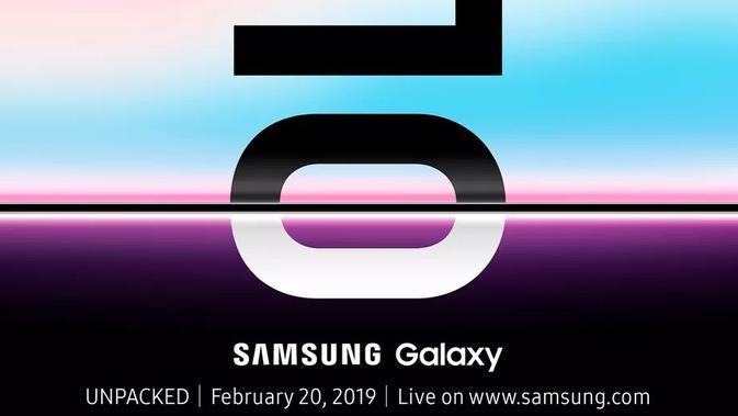 Samsung Galaxy S10 diumumkan pada Unpacked 2019. (Doc: Samsung)