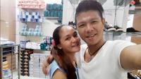 Andika Kangen Band dan istrinya, Caca [foto: instagram/chacaa22]