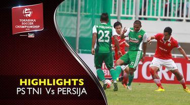 Video highlights TSC 2016 antara PS TNI vs Persija Jakarta yang berakhir dengan skor 1-2 di Stadion Pakansari.
