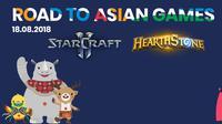 Asian Games 2018 akan menampilkan eksibisi e-Sports. (mineski.net)