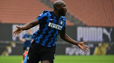 FOTO: 4 Pencetak Gol Terbanyak Inter Milan di Liga Italia Musim Ini - Romelu Lukaku