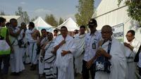 Menteri Agama Lukman Hakim Saifuddin meninjau Arafah. (MCH Indonesia)