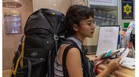 Solo Backpacker, Ini 6 Potret Gaya Liburan Adinda Thomas di Jepang (sumber: instagram.com/adindathomas)