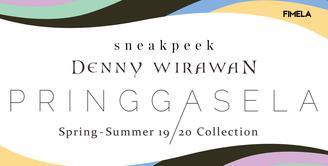 Intip persiapan Denny Wirawan jelang pagelaran intimate fashion show teranyarnya yang mengangkat tema Pringgasela.
