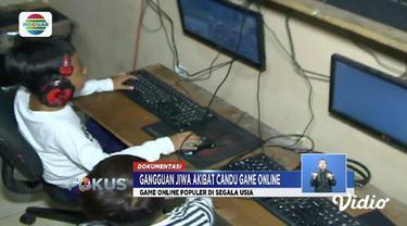 Seorang Pria di Kota Bekasi, Jawa Barat, alami gangguan jiwa sampai harus rehabilitasi diduga karena kecanduan gawai dan main gim daring.