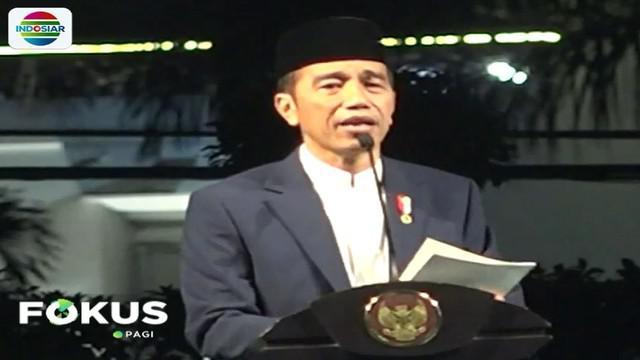Selain Presiden Jokowi, sejumlah pejabat dan tokoh nasional di antaranya Menteri Agama Lukman Hakim Saifuddin serta Wakil Gubernur Jawa Barat Uu Ruzhanul Ulum pun turut hadir.