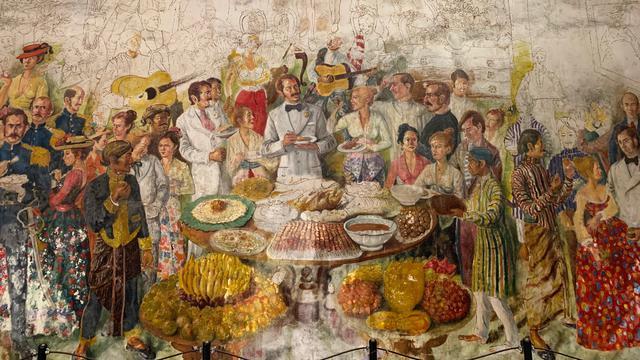 Cerita Tak Terduga Dari Lukisan Mural Di Museum Sejarah Jakarta