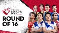 Denmark Open 2021 16 Besar Kamis, 21/10/2021