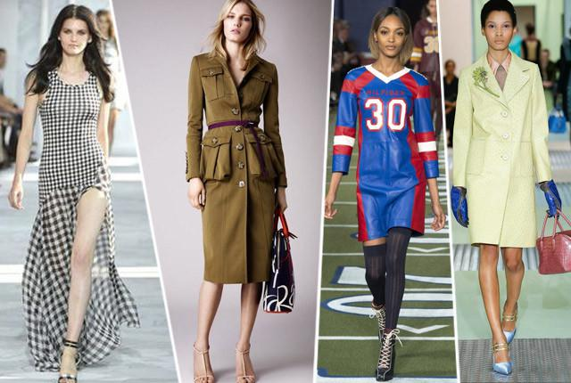 Fashion Trend Alert: Military, Plaid and Sporty Style - Fashion Fimela.com