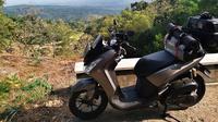Yamaha Lexi 125 milik Wahid yang dipakai mudik ke Wonogiri, Jawa Tengah. (YIMM)