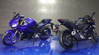 New Yamaha R25 resmi diluncurkan PT Yamaha Indonesia Motor Manufacturing. (Septian/Liputan6.com)