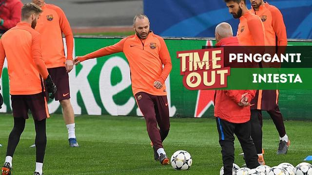 Berita video Time Out kali ini tentang 3 jebolan akademi Barcelona, La Masia, yang bisa menggantikan peran Andres Iniesta, yang memutuskan untuk tak lagi bersama Blaugrana musim depan.