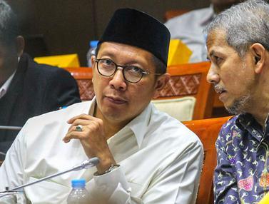 Bahas Kuota Haji, Menteri Lukman RDP dengan  Komisi VIII DPR