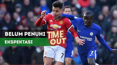 Berita video Time Out tentang Alexis Sanchez yang belum memenuhi ekspektasi Manchester United.