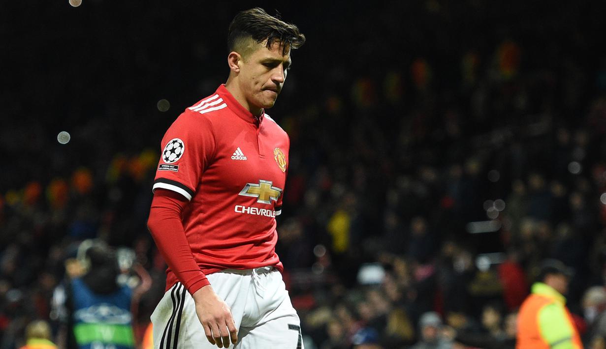 FOTO Wajah Kecewa Pemain Manchester United Dibekuk Sevilla
