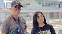 Billy Syahputra dan Elvia Cerolline (Sumber: Instagram/yunitawildaa06)