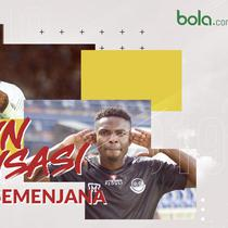3 pemain naturalisasi di klub semenjana. (Bola.com/Dody Iryawan)