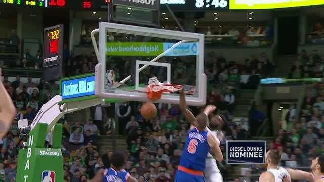 Berita video game recap NBA 2017-2018 antara Brooklyn Nets melawan New York Knicks dengan skor 103-73.
