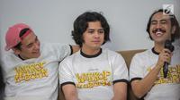 Peman Warkop DKI Reborn Aliando Syarief, Adipati Dolken dan Randy Danistha (Liputan6.com/Faizal Fanani)