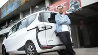 Leonard Theosabrata Dengan Toyota Sienta