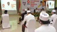 DPP Partai Keadilan Sejahtera (PKS) menggelar Doa Bersama untuk Indonesia Sehat di malam penghujung 2020, Kamis, 31 Desember 2020. (DOk: PKS)